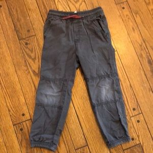 Boys pants with working drawstring waistband size6